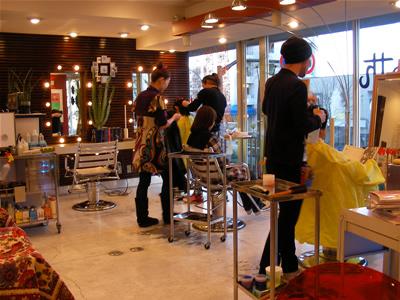 聖蹟桜ヶ丘 美容室 サバス 店内2
