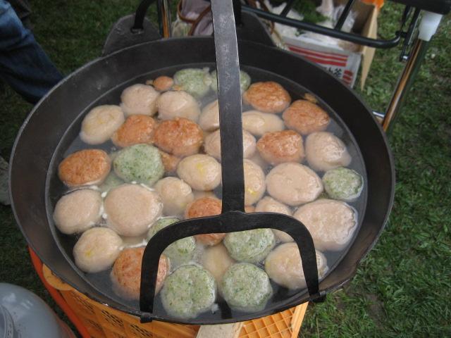 鍋いっぱい