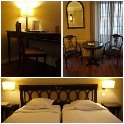 パリ ホテル 部屋