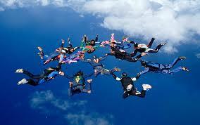 skyダイビング