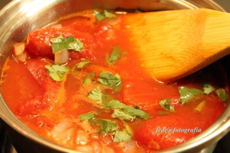 トマトソースとカツレツ