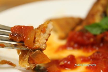 トマトソースとカツレツ10