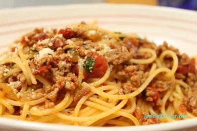 スパゲッティミートソース2