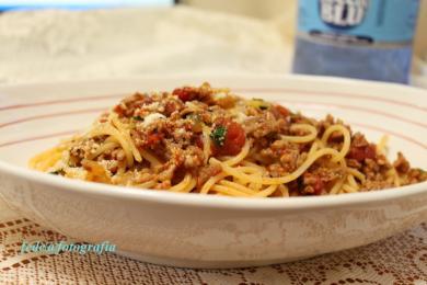 スパゲッティミートソース1