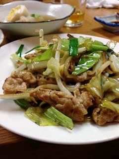 0330野菜炒め