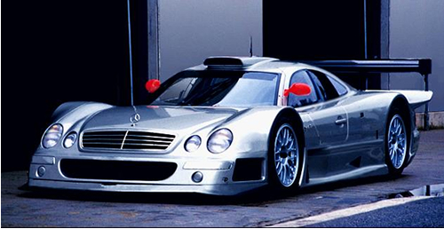 Image result for Mercedes CLK-GTR pic