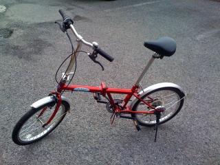 折りたたみ自転車x