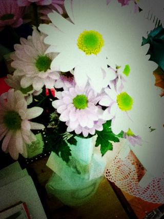 ぴんくのお花
