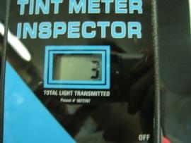 プリウスαフィルム施行後可視光線透過率