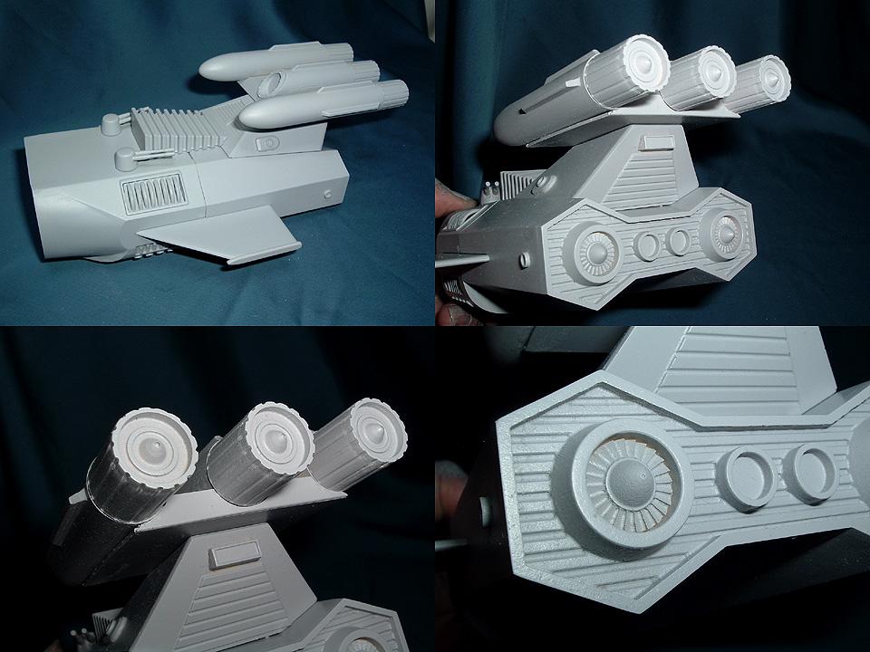 胴体後部の原型