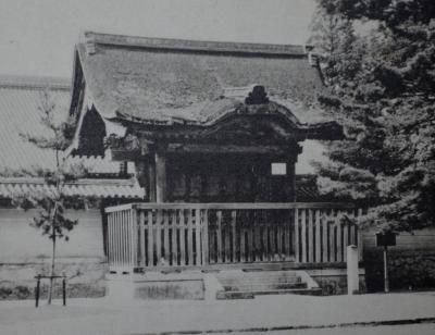 日本古建築菁華より大徳寺唐門