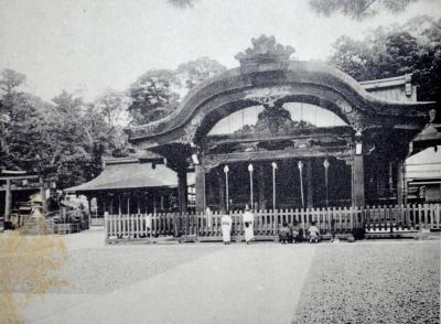 京都名勝詩より稲荷神社
