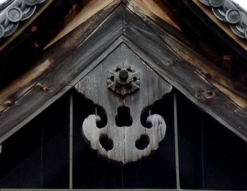 蓮華王院本堂(三十三間堂)懸魚
