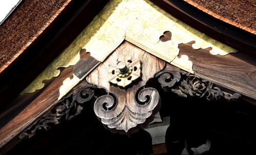 南禅寺勅使門懸魚