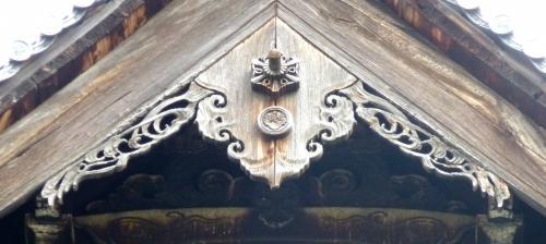 建仁寺法堂懸魚