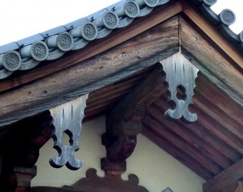 東寺慶賀門懸魚
