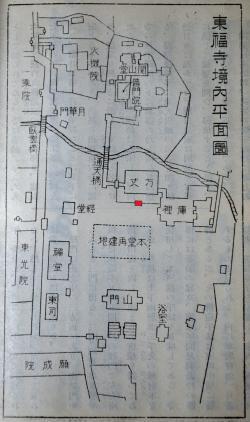 東福寺境内図