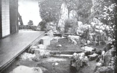 大仙院の庭(北尾鐐之助撮影)