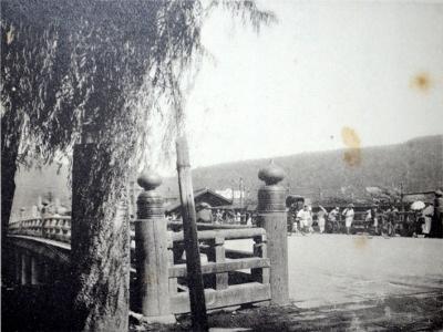 「京都名勝誌」より三条大橋