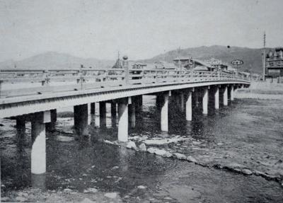 「新撰京都名勝誌」より三条大橋