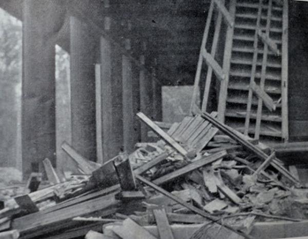 室戸台風の被害(「上方」より)