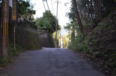 幡枝への峠