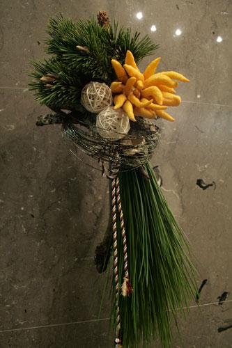 お正月松飾りソボカイ