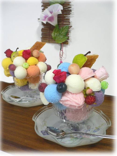 アイスクリームアレンジメントブログ用