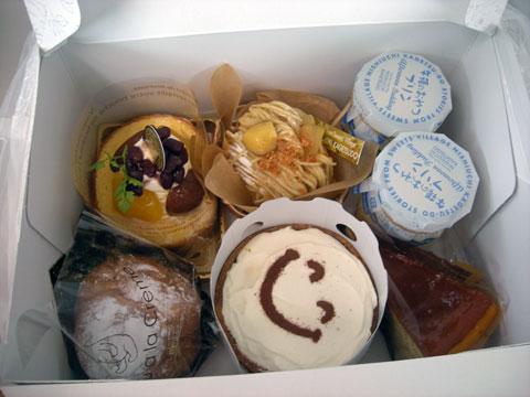 西内のケーキ達