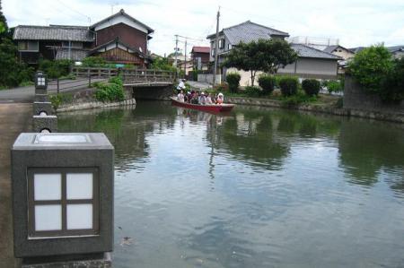 鶴柳川と鶴 068