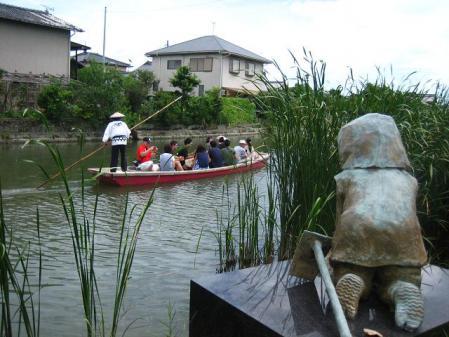 鶴柳川と鶴 064