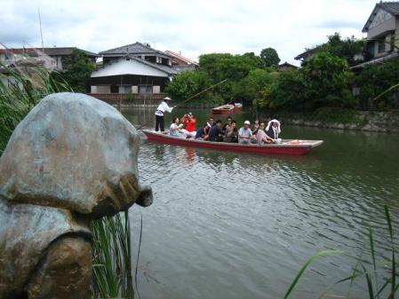 鶴柳川と鶴 061