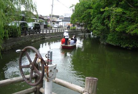 鶴柳川と鶴 092