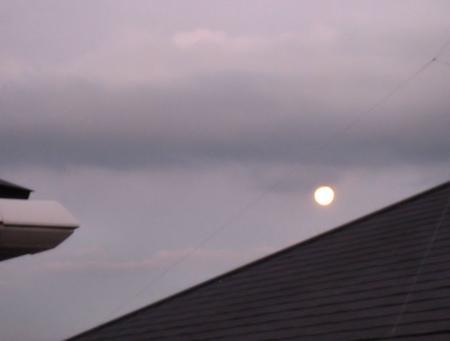 満月と赤とんぼ 003