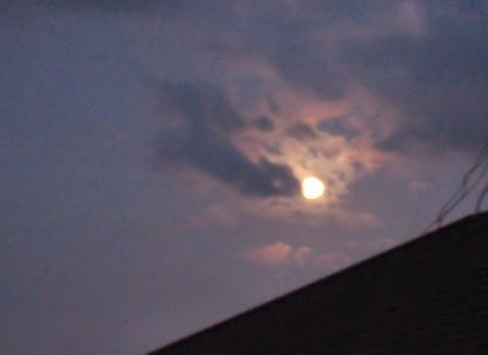 満月と赤とんぼ 006
