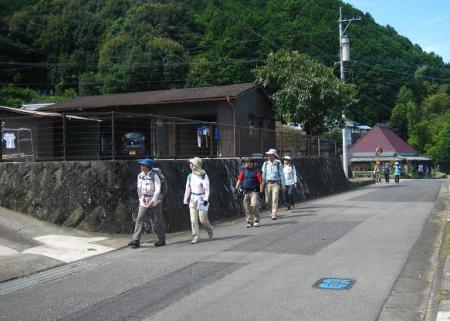 長崎街道 嬉野~塩田 105