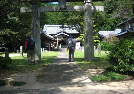 長崎街道 嬉野~塩田 118