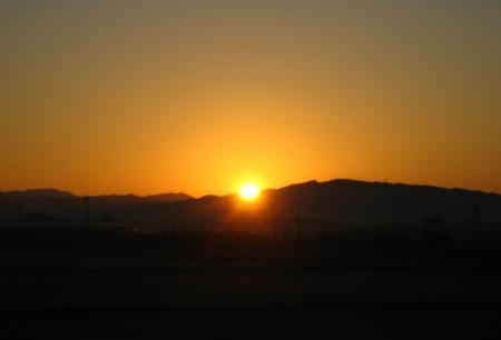 朝陽が昇る 038