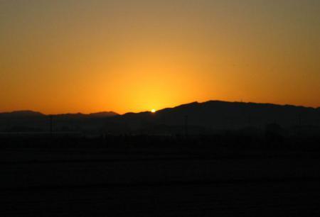 朝陽が昇る 029