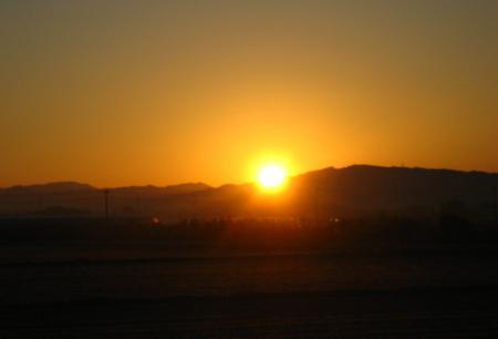 朝陽が昇る 043
