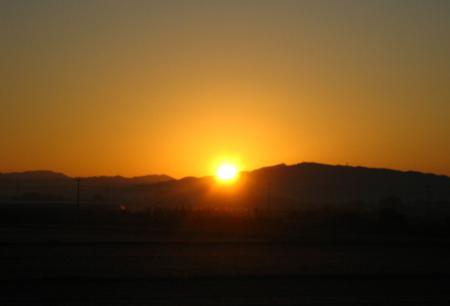 朝陽が昇る 041