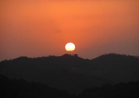 清水の朝日 054
