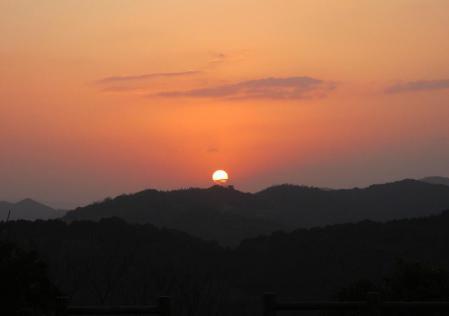 清水の朝日 051