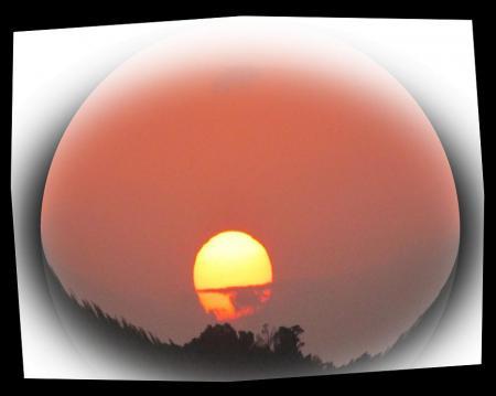 清水の朝日 050