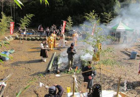 護摩焚き 056