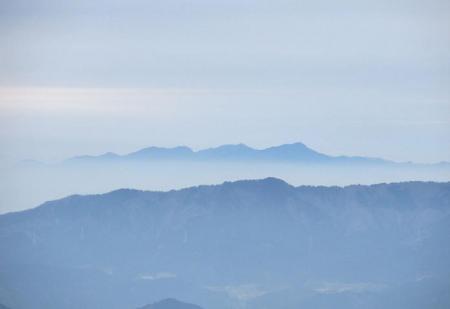 井原山とムクドリ 097