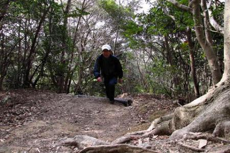 小岱山に登る 017