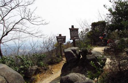 小岱山に登る 100