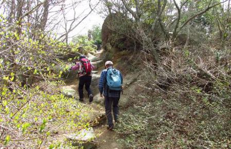 小岱山に登る 121