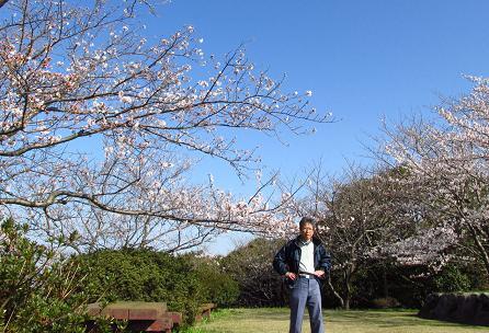 写真展と清水の桜 042